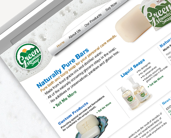 Green Mountain Soap Website