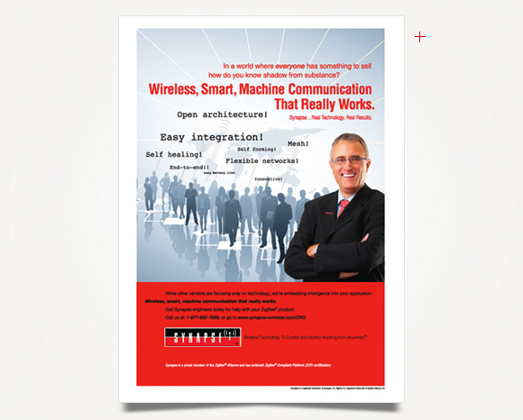 Print - Synapse  Wireless - Full-Page Advertisement