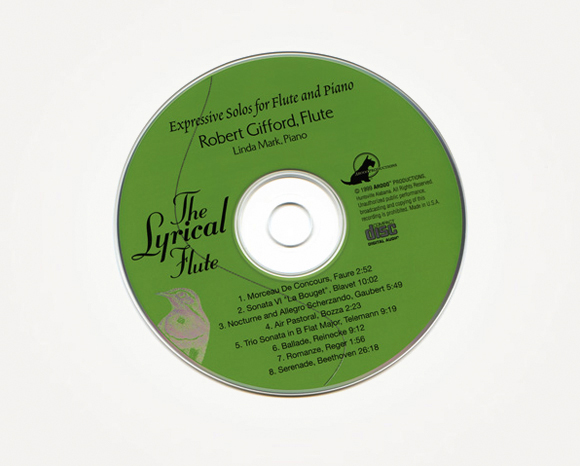 Packaging - Bob Gifford - CD Cover And Booklet 4