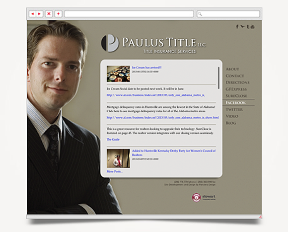 Web - Web Design - Paulus Title - Website 2