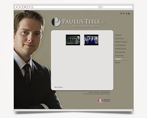 Web - Web Design - Paulus Title - Website 3