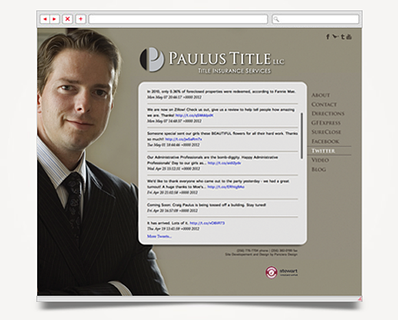 Web - Web Design - Paulus Title - Website 5