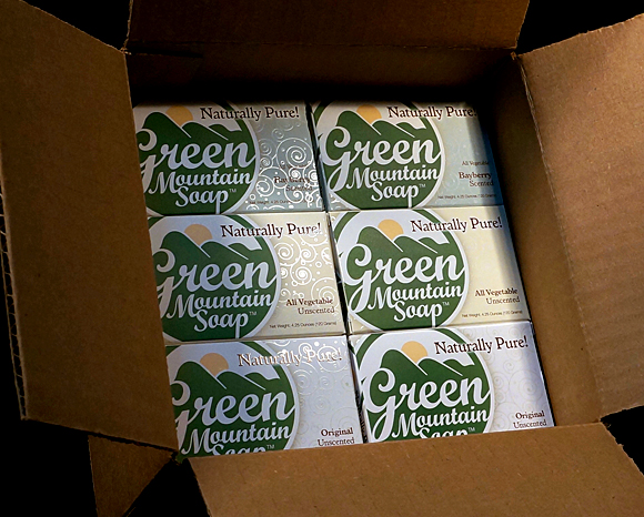 Print - Green Mountain Soap Company - Soap Packaging And Labels 1