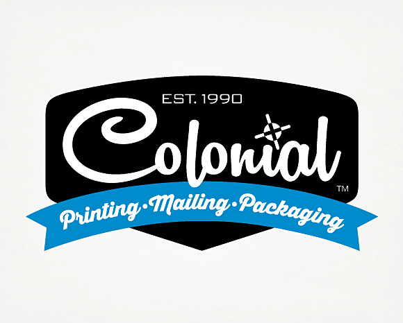 Identity - Colonial Printing, <br />Mailing And Packaging - Logo 1