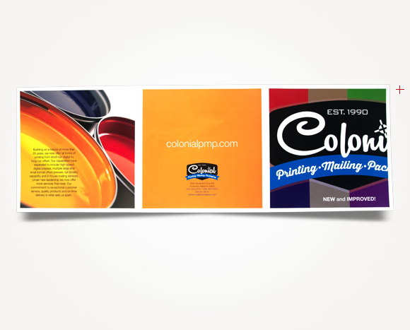 Print - Colonial Printing, <br />Mailing And Packaging - Tri-Fold Brochure
