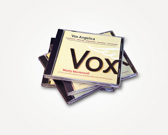 Print - Vox Angelica - Compact Disc 1