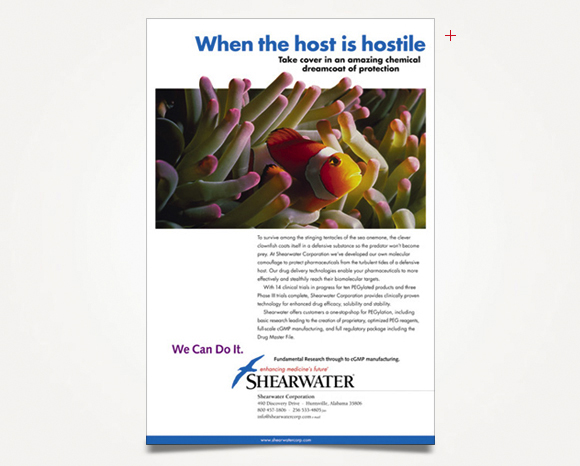 Print - Shearwater Corporation - Full-Page Advertisement