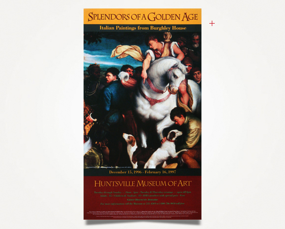 Print - Huntsville Museum Of Art - Exhibition Poster