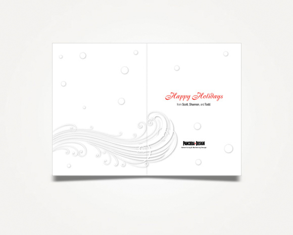 Print - Panciera Design - 2007 Holiday Card 2
